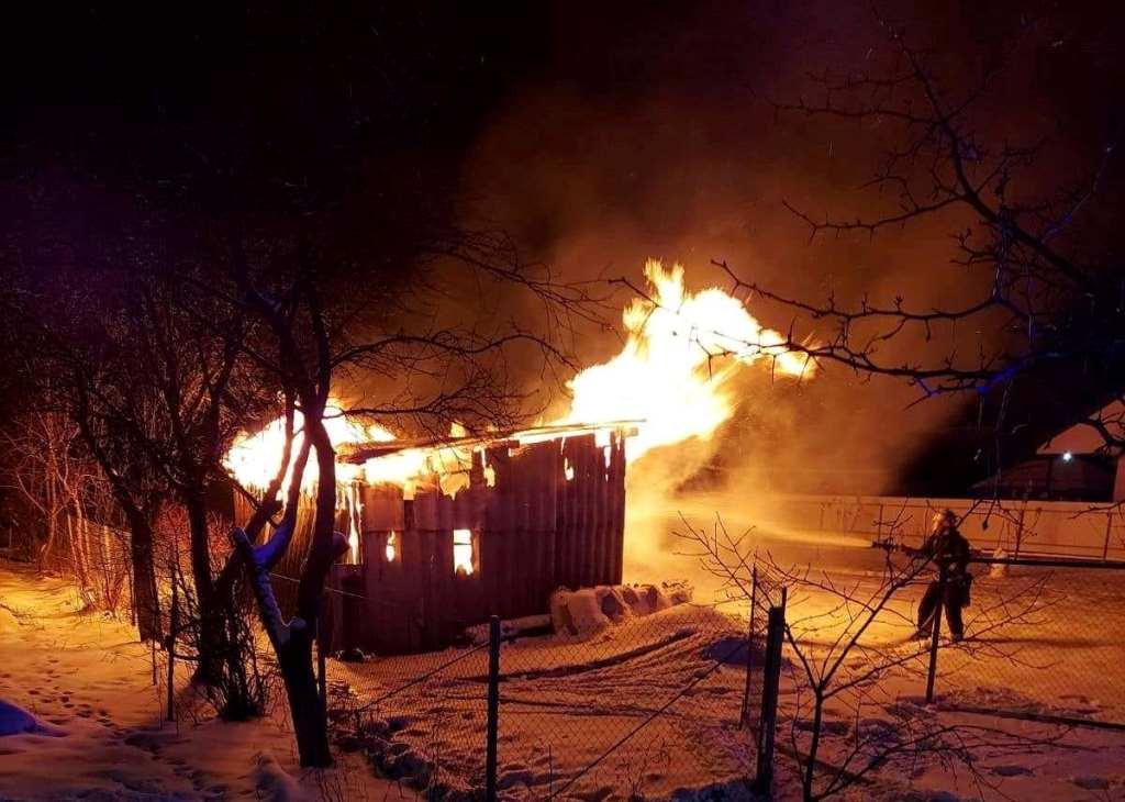 На Волині ліквідували пожежі у чотирьох житлових будинках