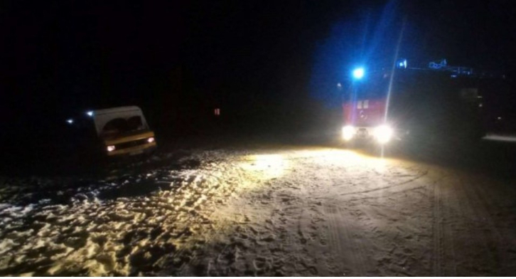 На Волині рятувальники допомагали водіям на слизьких автошляхах