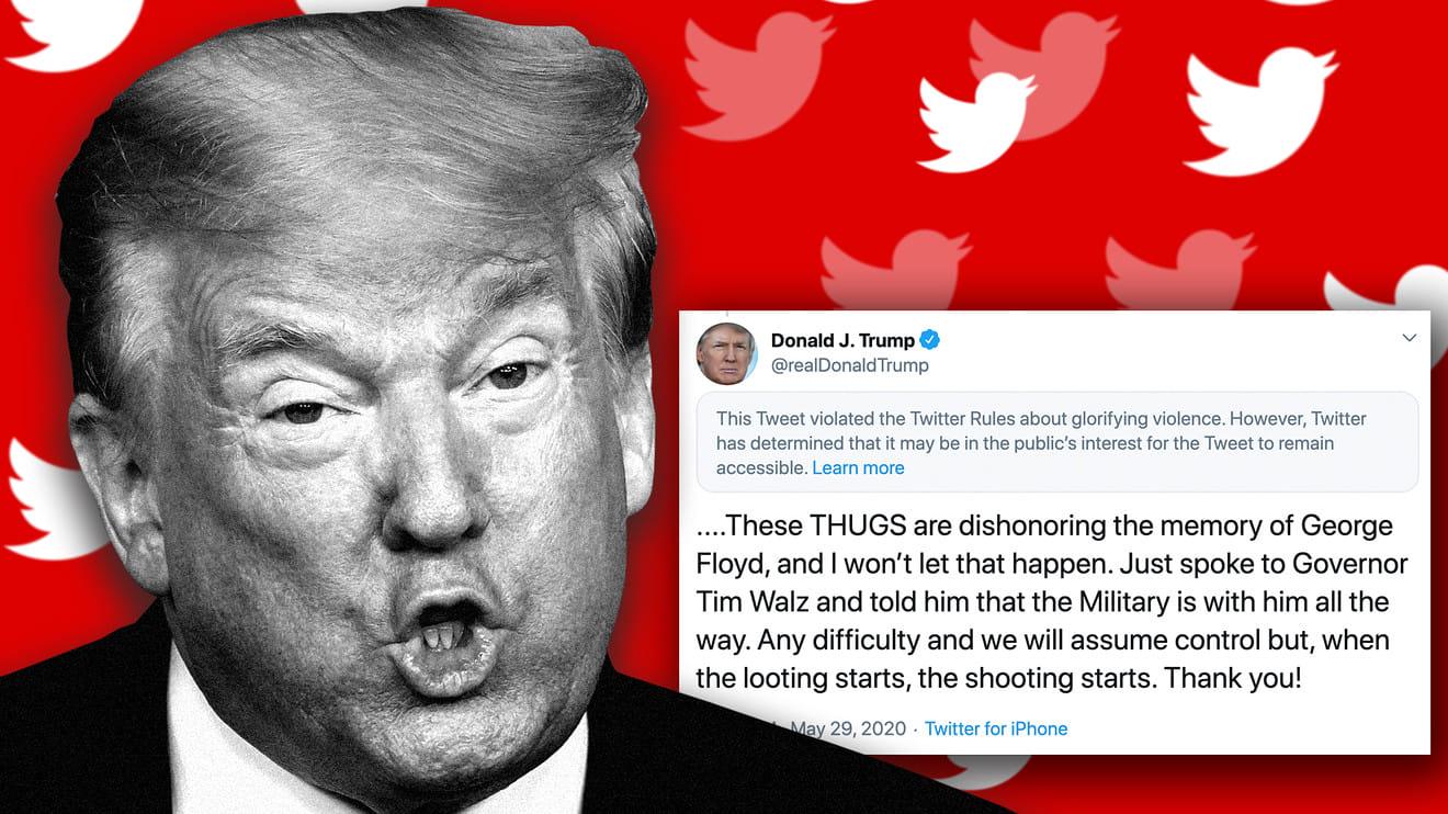 «Twitter» назавжди забанив Трампа, його кампанію та видалив твіти уряду США