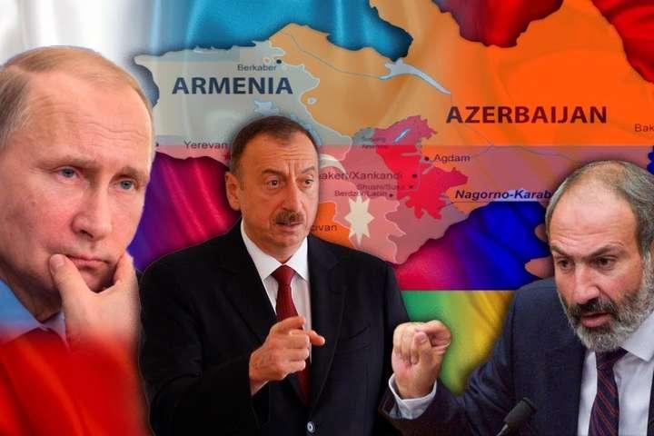 Алієв і Пашинян прилетять до Путіна обговорити Карабах