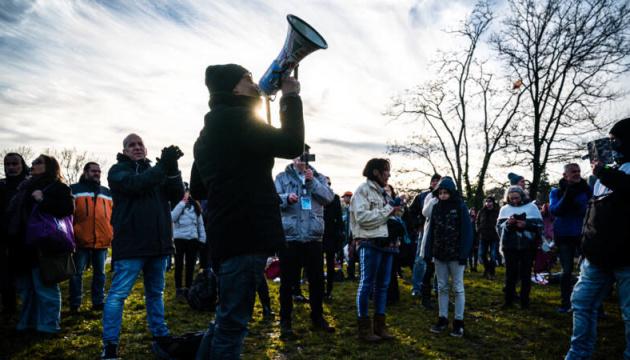 У Нідерландах знову мітингують проти карантинних обмежень, є затримані