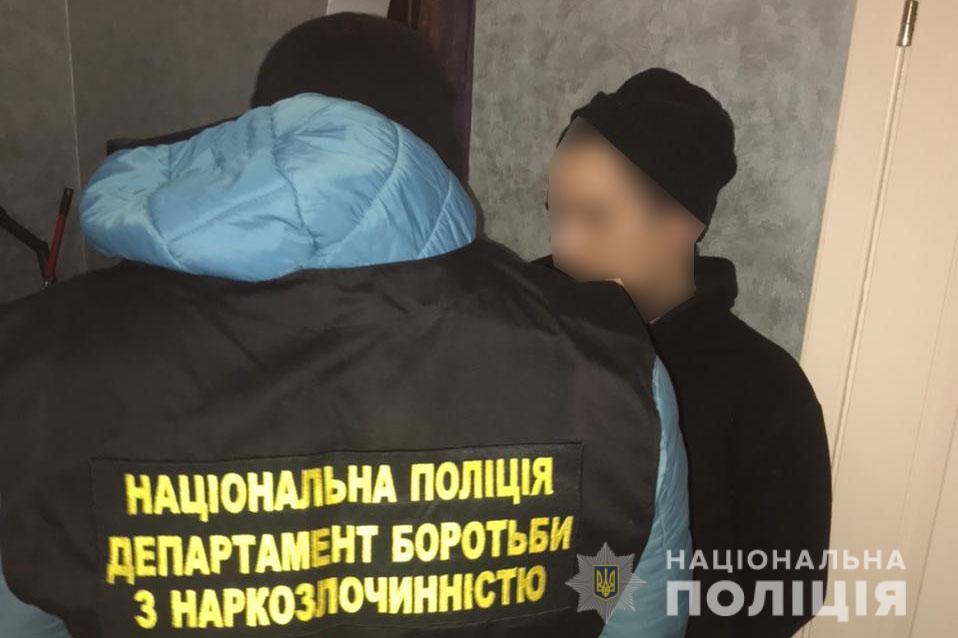 Волинські оперативники затримали наркокур'єра