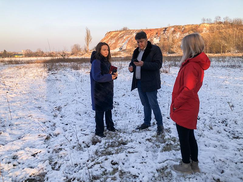 У Нововолинську оглянули ділянку для майбутнього індустріального парку