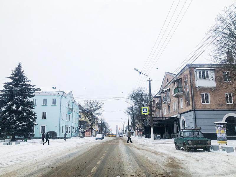 У Нововолинську перевірили якість очищення вулиць від снігу