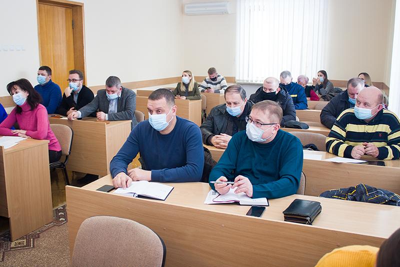 У Нововолинську аналізували, чи готові комунальні служби до ускладнення погодних умов