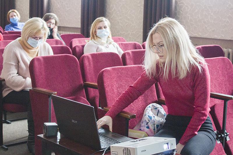 Для працівників бібліотек Нововолинська організували тренінг із написання проектів