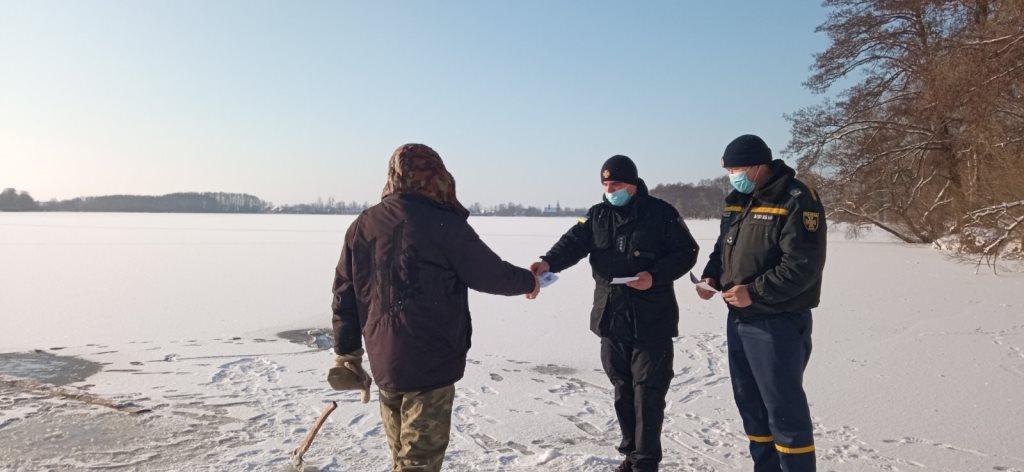 Рятувальники здійснюють профілактику на водоймах Волині
