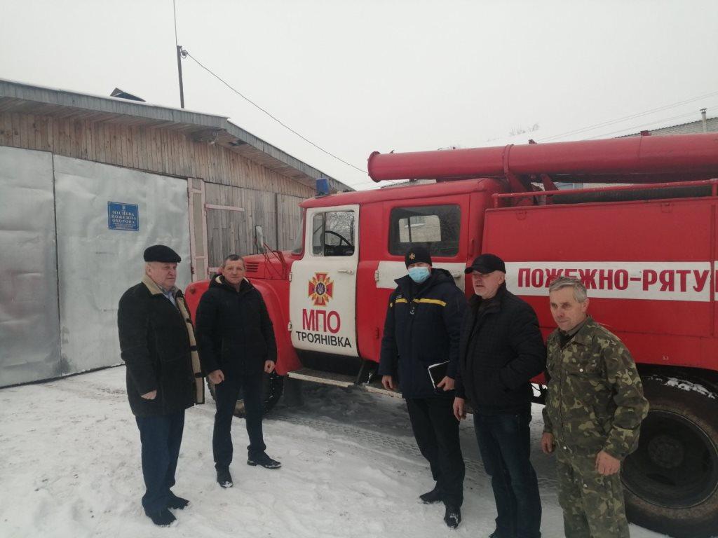 На Волині перевірили боєготовність підрозділів місцевої пожежної охорони