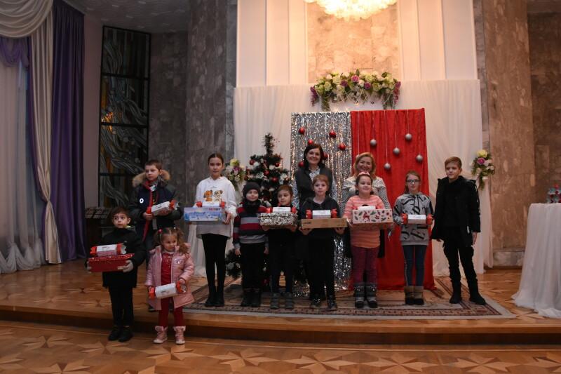 У Луцьку вітали вихованців ГО «Равлик у долоні»