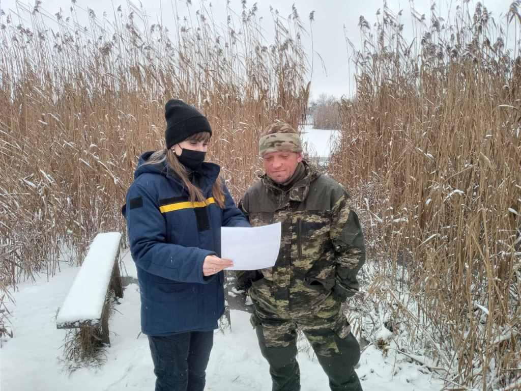 Рятувальники закликають волинян утриматися від виходу на хисткий лід