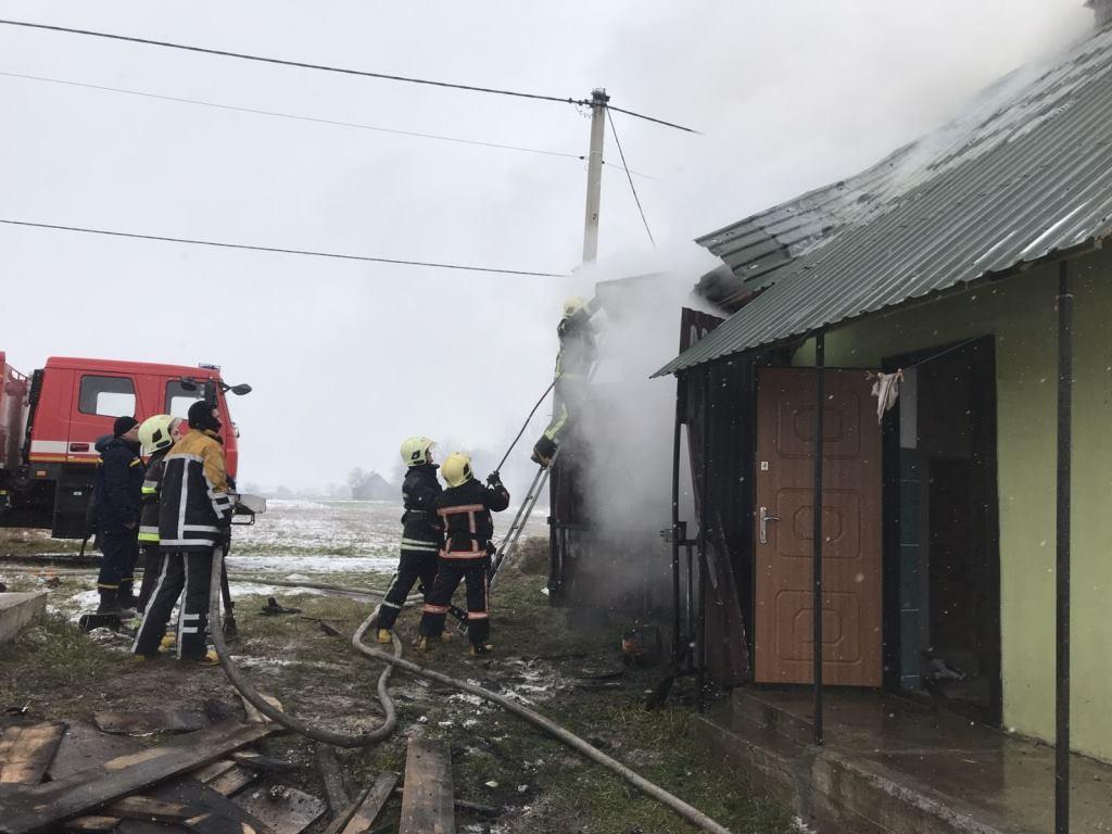 Пожежники на Волині запобігли вибуху