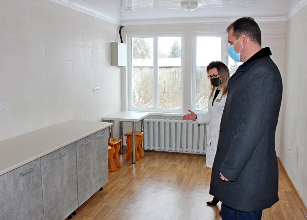 У Володимирі-Волинському облаштували приміщення для тимчасового проживання медиків