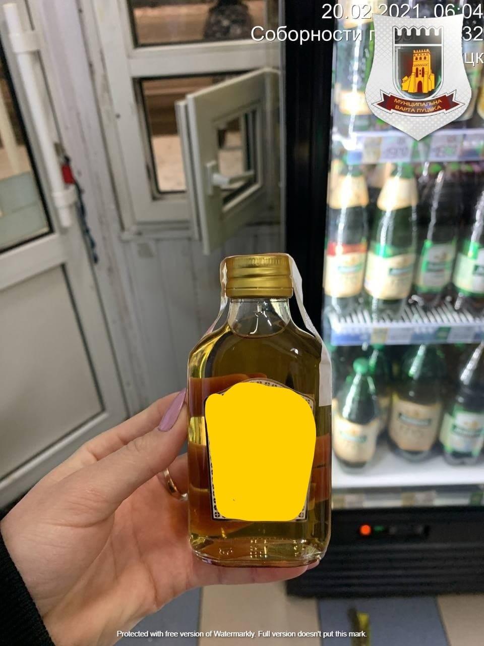 У Луцьку виявили порушення заборони продажу алкоголю