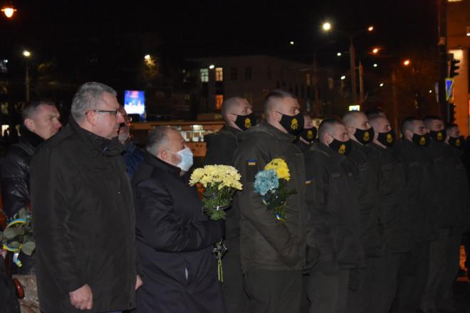 У Луцьку вшанували загиблих у зоні АТО та ООС: у січні загинуло троє військових
