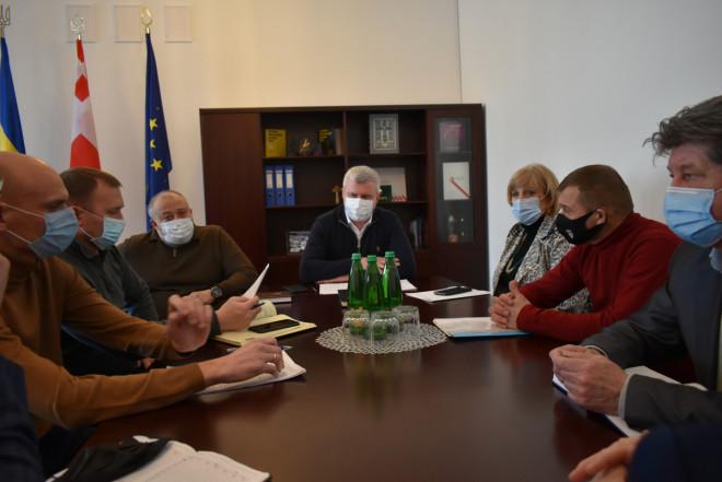 У Волинські ОДА аналізували скарги учасників АТО на роботу Держгеокадастру