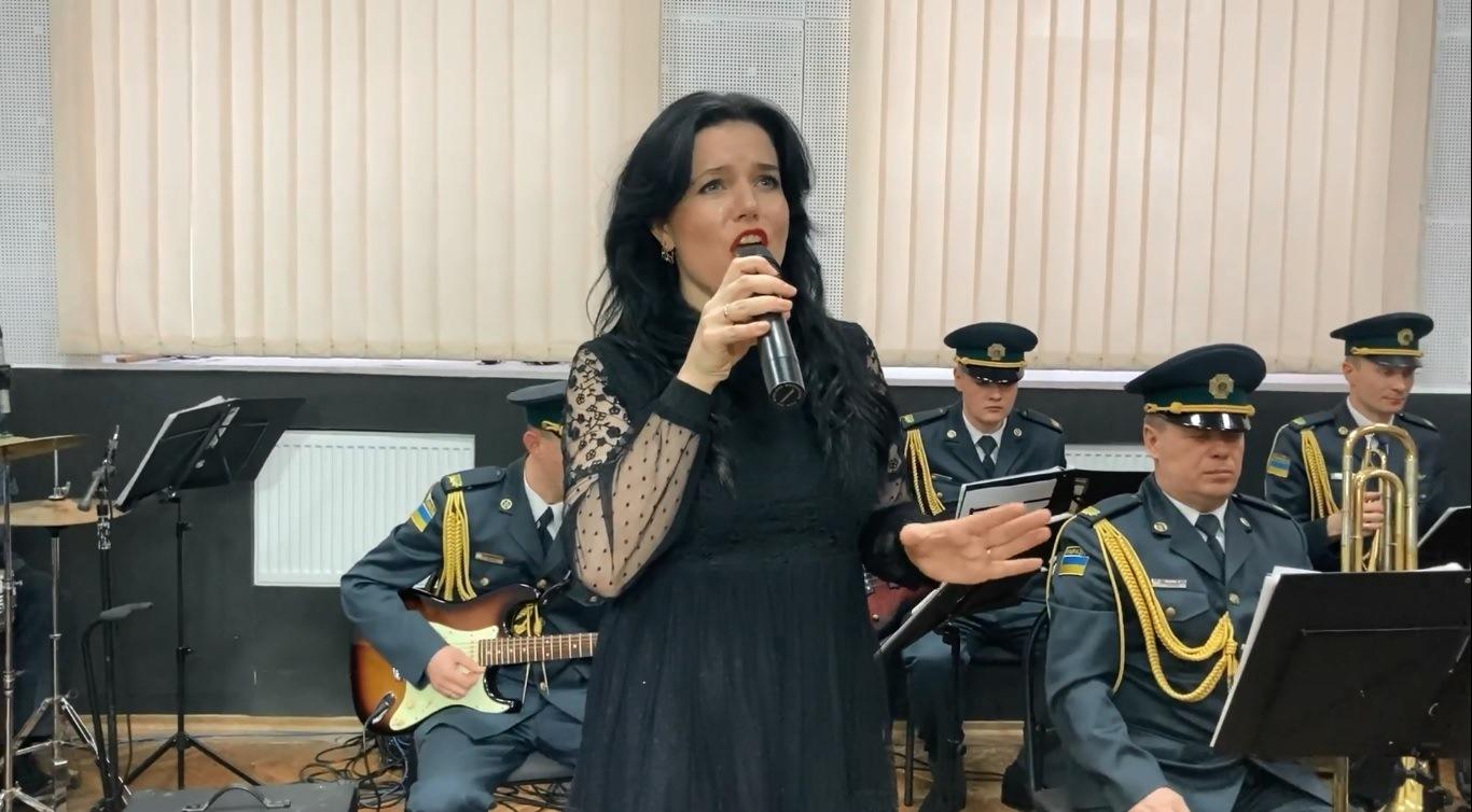 Військовий оркестр волинських прикордонників виконав музичну композицію до Дня Героїв Небесної Сотні