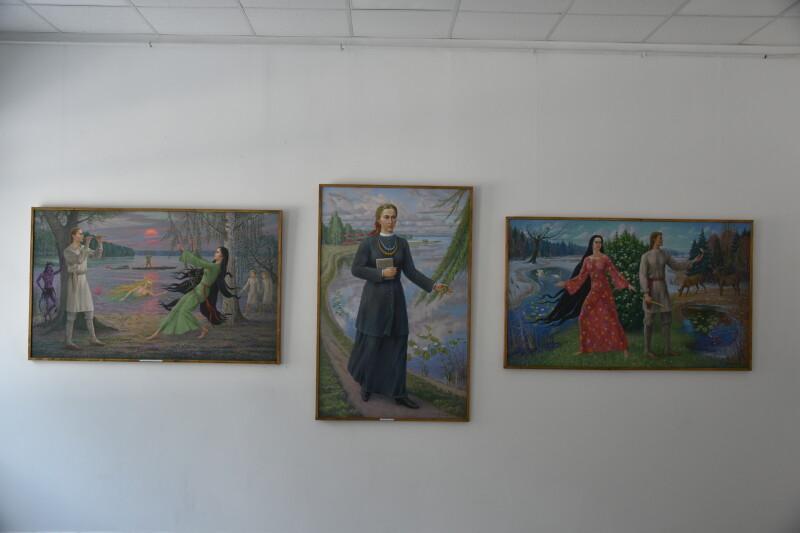 «Лесиними стежками»: у Луцьку відкрили серію виставок волинських художників