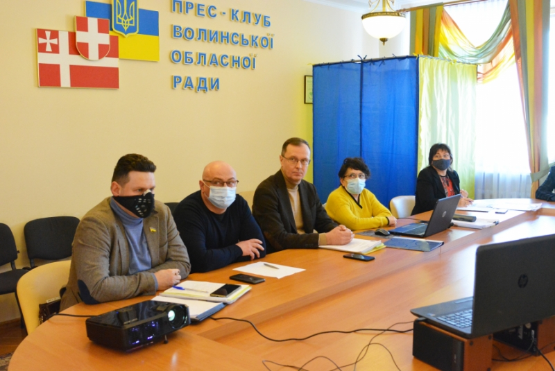 Бюджетна комісія Волиньради рекомендувала ухвалити головний кошторис області