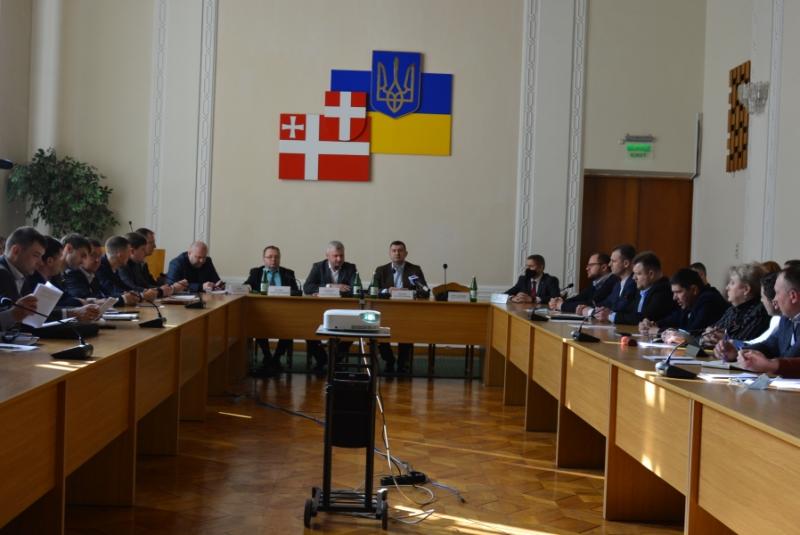 Створили координаційну раду з питань місцевого самоврядування при голові Волиньради