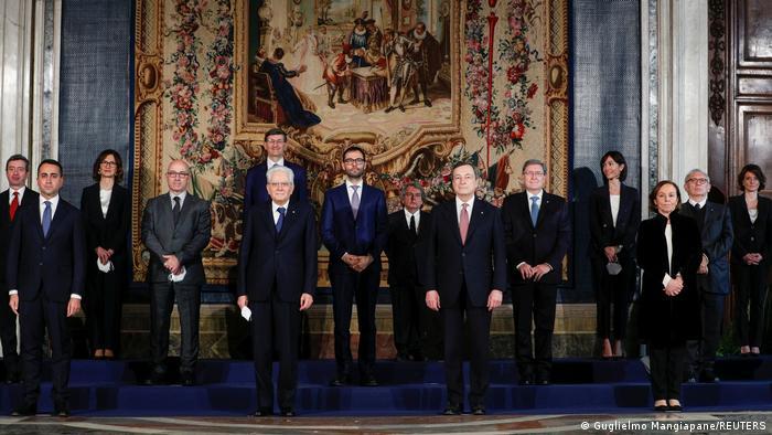 В Італії новий уряд Маріо Драгі склав присягу