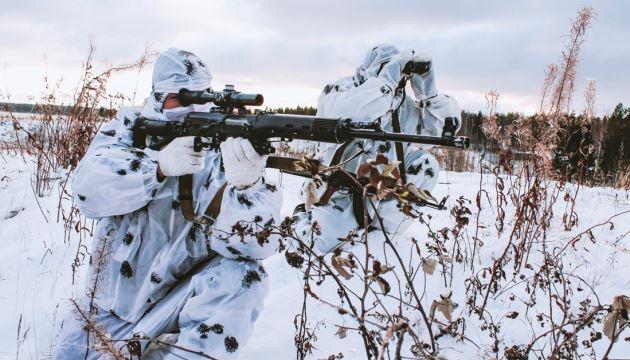 Окупанти стріляли зі снайперської зброї по українських позиціях