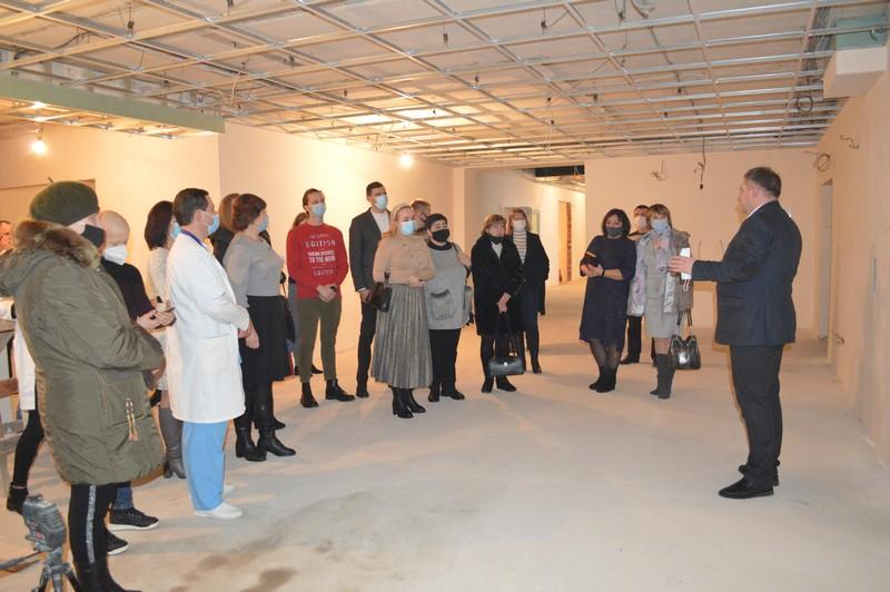 Депутати Ковельської міськради знайомилися з роботою Ковельської лікарні
