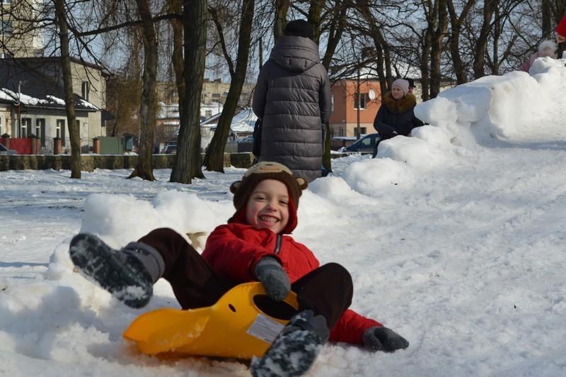 У Ковелі влаштували зимові розваги