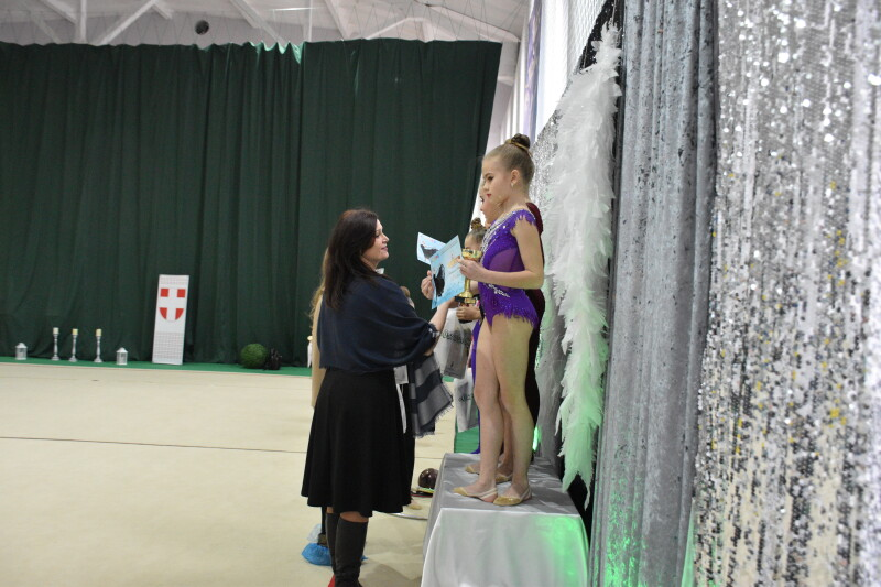 У Луцьку триває турнір з художньої гімнастики