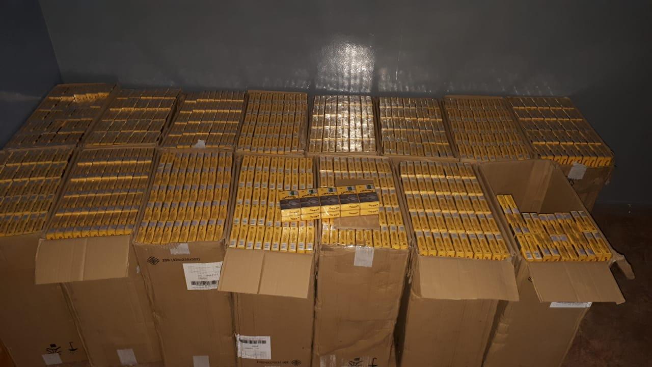 Майже 7,5 тисячі пачок цигарок прикордонники Луцького загону затримали на кордоні з Білоруссю
