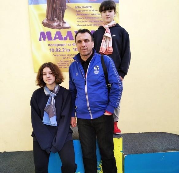 Ковельські борчині здобули бронзові нагороди на міжнародних та всеукраїнських змаганнях