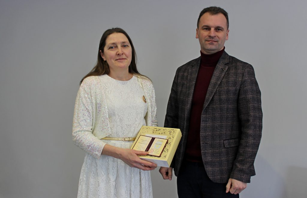 Володимирчанці вручили відзнаку «Мати-героїня»