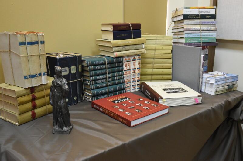 У Лесиному виші презентували виставку «Історія з історіями, або Повне зібрання творів Лесі Українки»