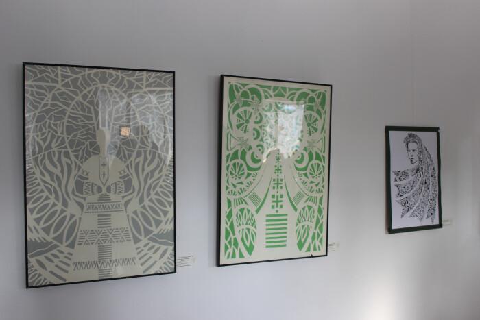 «Мереживні вірші»: у Луцьку презентували творчі роботи учасників Всеукраїнського конкурсу витинанки
