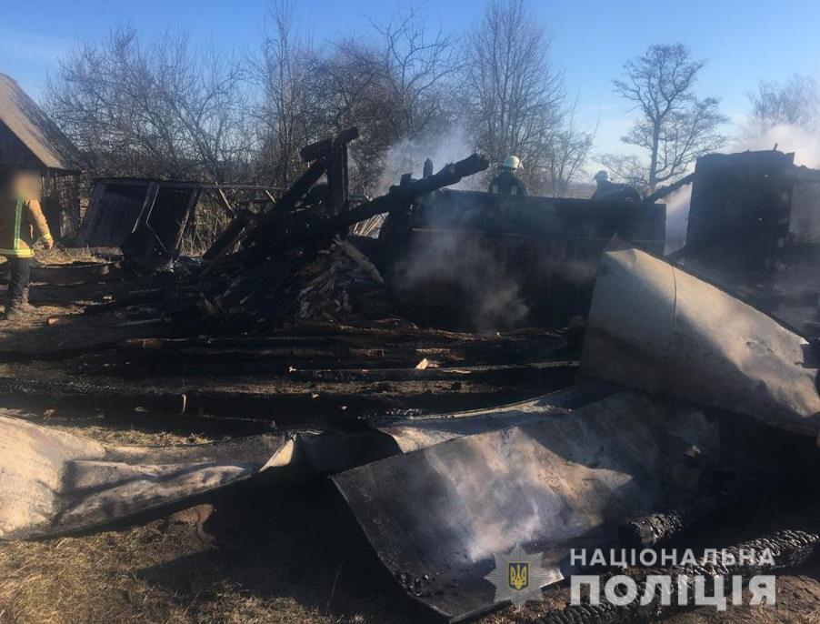 Двоє людей загинуло: поліція встановлює обставини пожежі у Ковельському районі