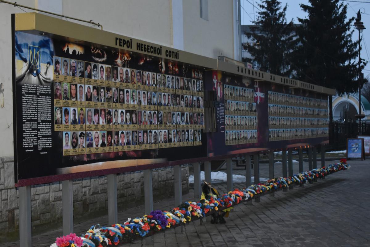 У Луцьку вшанували військових, які загинули у російсько-українській війні