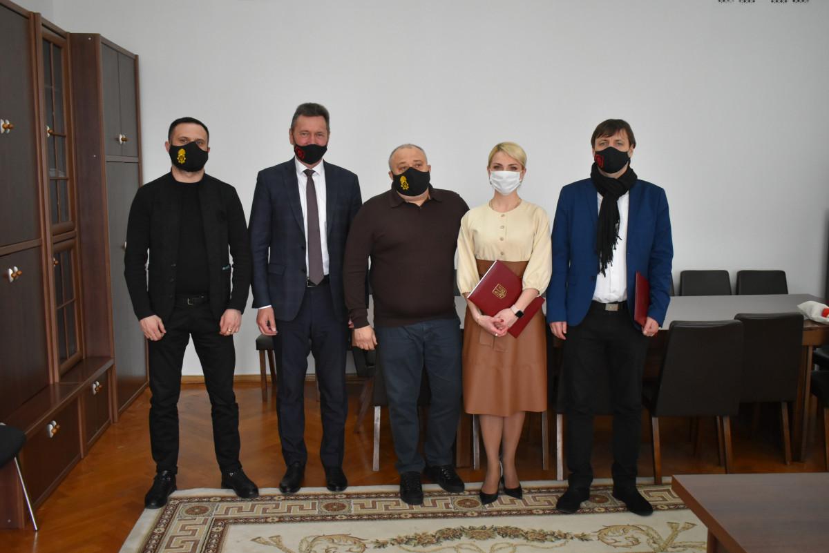 Лесин виш уклав договір про співпрацю з Волинською ОДА
