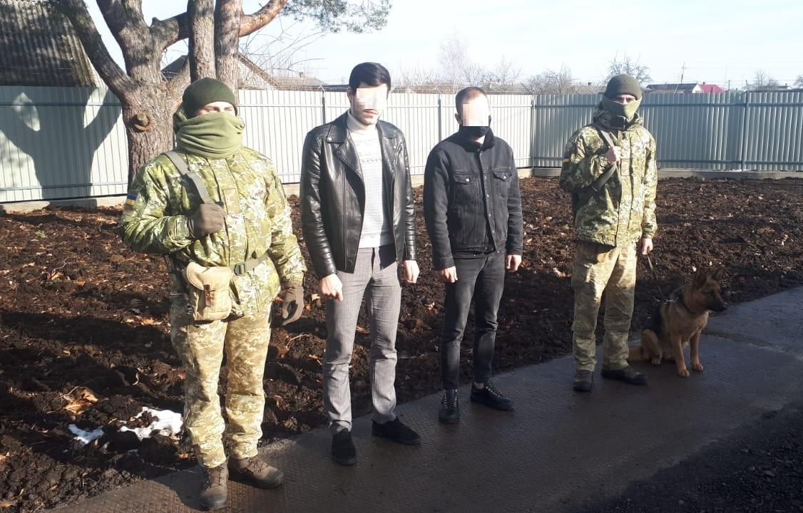 На Волині затримали росіянина та білоруса, які йшли в Україну
