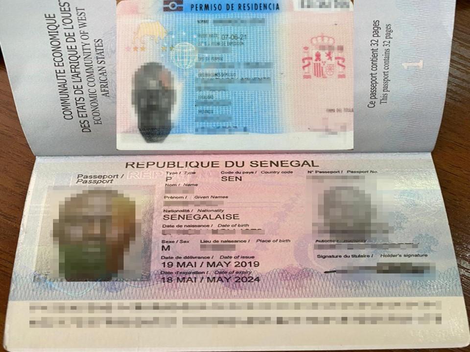 Громадянин Сенегалу намагався по чужому паспорту виїхати з Волині до Польщі