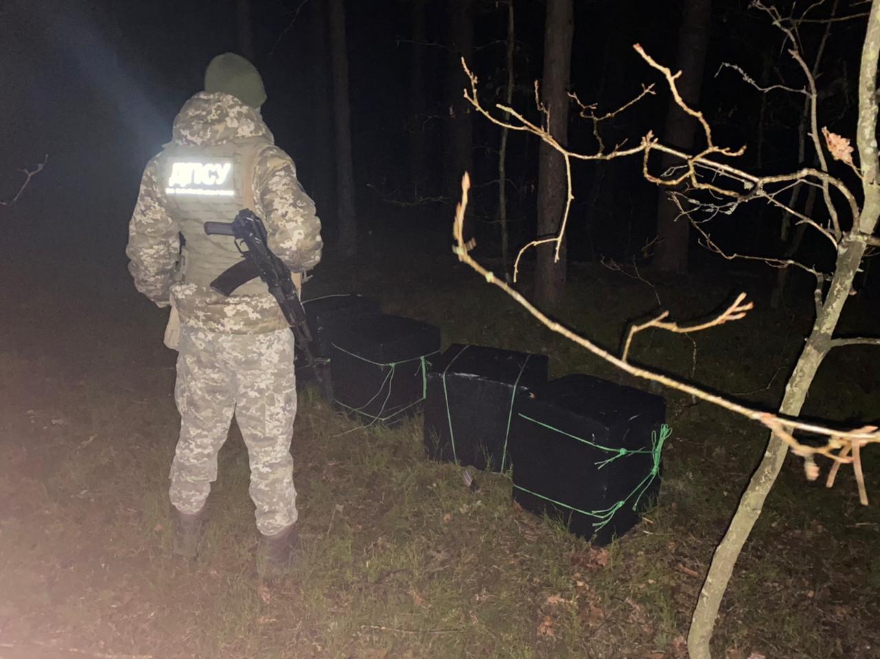Прикордонники Луцького загону зірвали чергову контрабандну оборудку