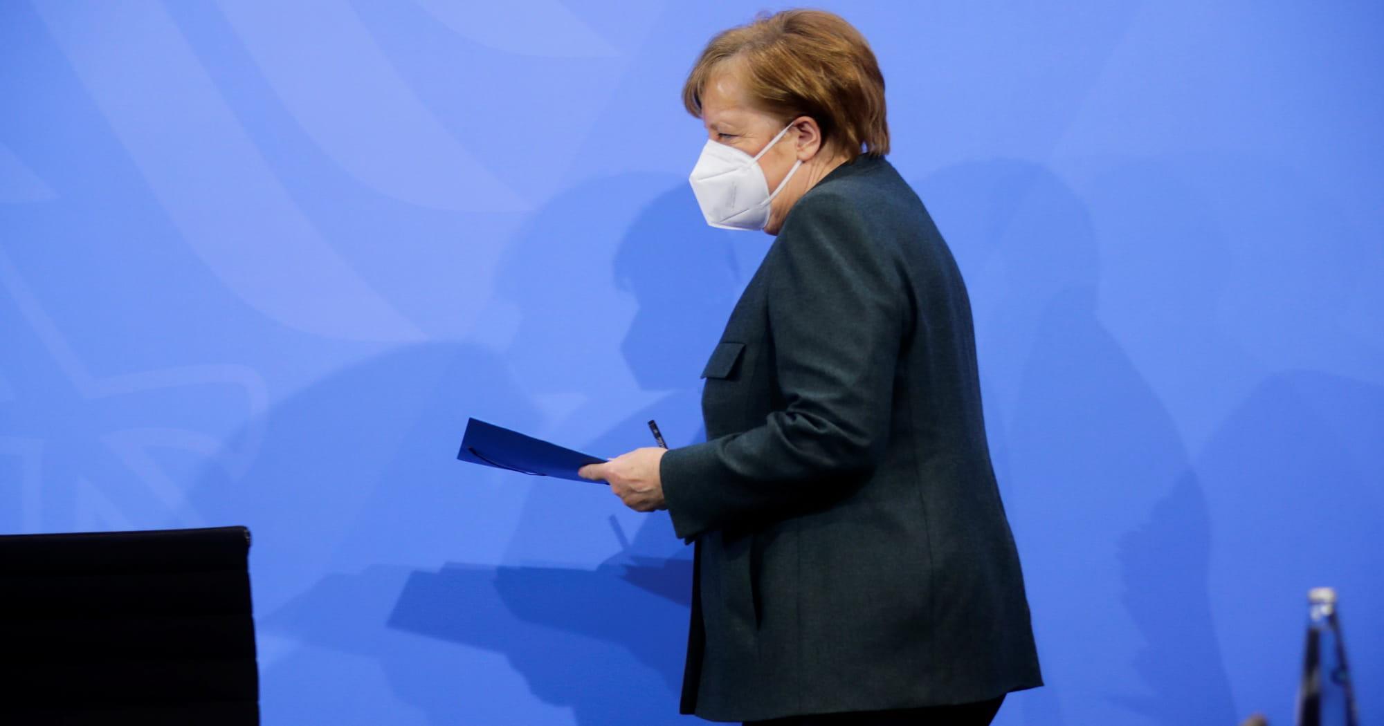Меркель очікує, що важка фаза епідемії в Німеччині затягнеться до липня