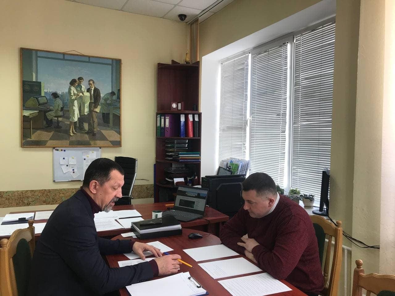 Мер Ківерців обговорював проблему сміттєзвалищ з керівником Держекоінспекції у Волинській області