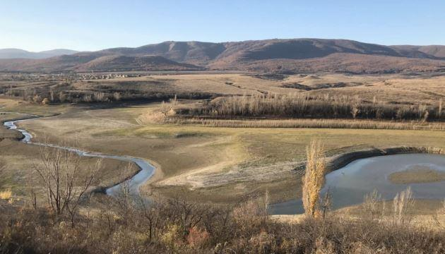В окупованому Криму міліють водосховища, вода зникає