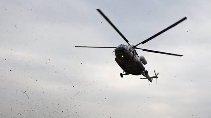 Російський вертоліт вторгся до повітряного простору України