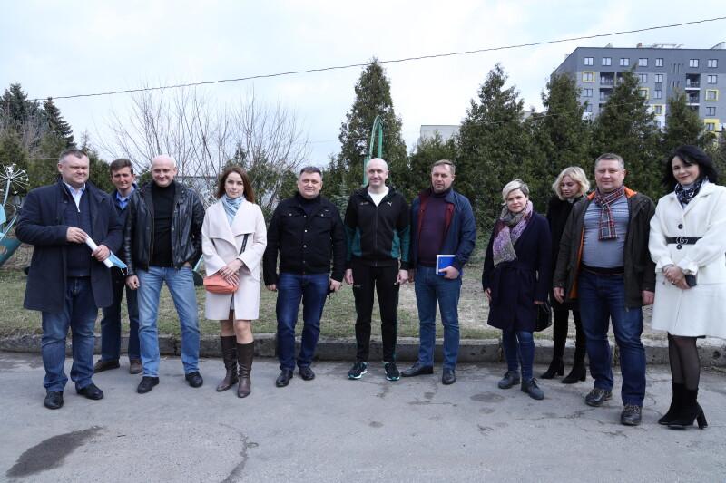 Депутати Луцькради знайомилися з роботою КП «Парки та сквери міста Луцька»