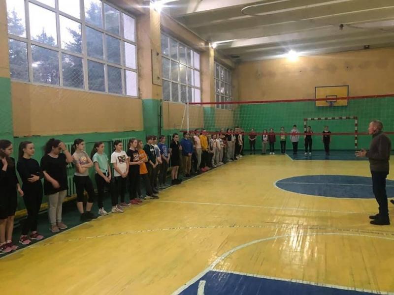 У Ківерцівській ДЮСШ відкрили відділення волейболу