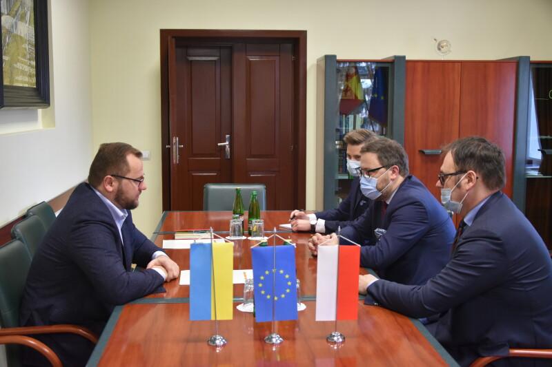 Луцький міський голова зустрівся з Надзвичайним і Повноважним Послом Республіки Польща в Україні