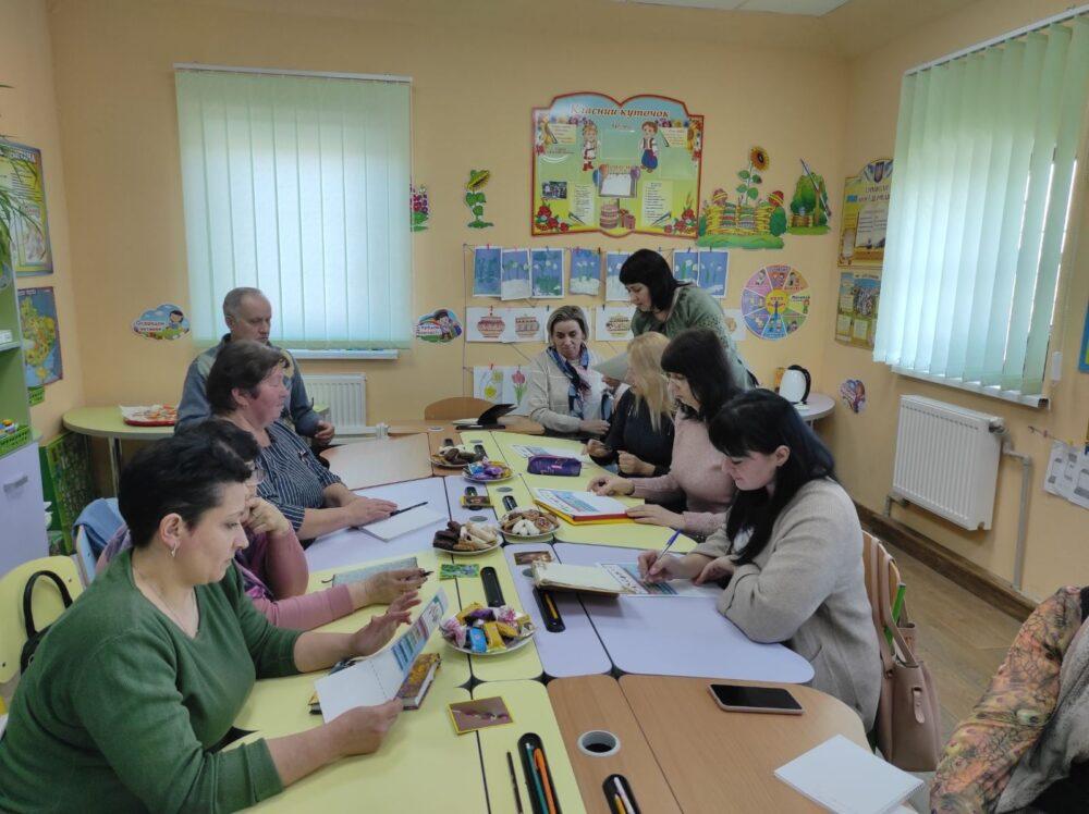 У громаді поблизу Луцька організували методичні посиденьки вчителів-початківців