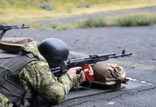 У Луцькому районі проводять навчальні стрільби