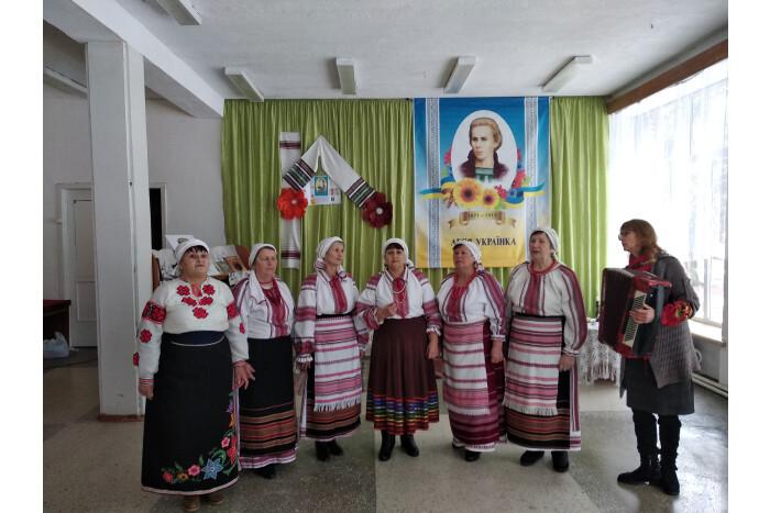 У селі біля Луцька відбувся захід до Дня народження Лесі Українки