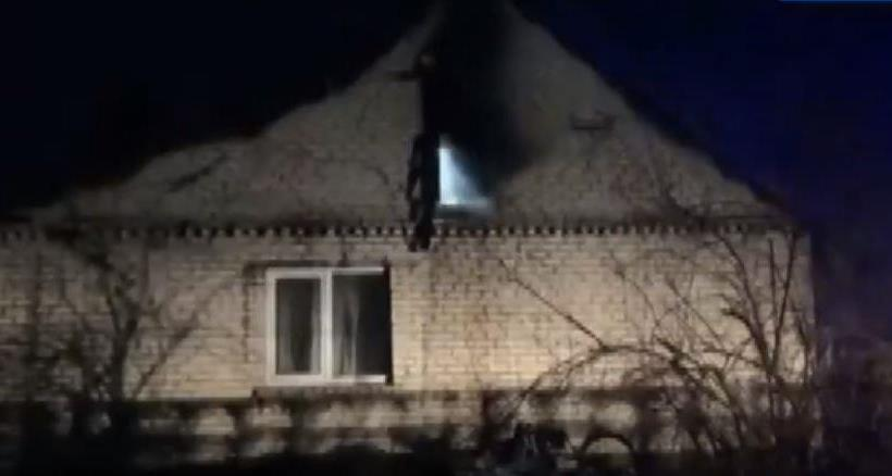 У селі поблизу Луцька горів житловий будинок